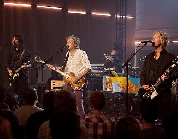 Spotify lança show de McCartney em Abbey Road