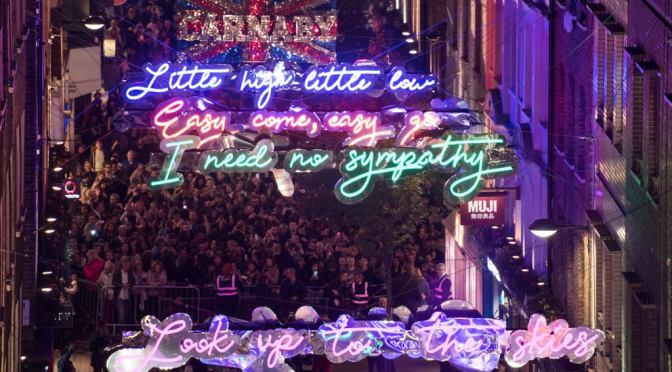 Queen-Bohemian-Rhapsody-Lights-Carnaby-Street-London