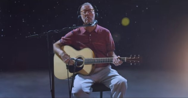 Mais uma de Natal de Eric Clapton