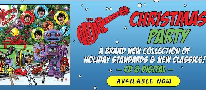 Monkees também lançam disco com canções natalinas