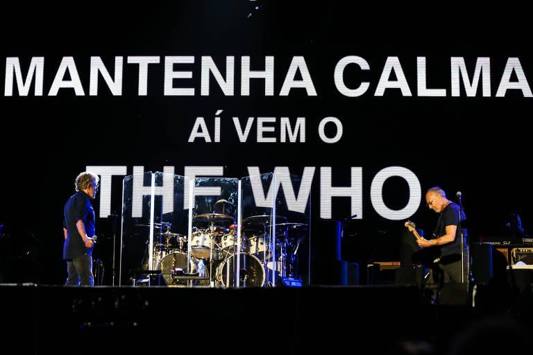 The Who quer fazer a gente sonhar!