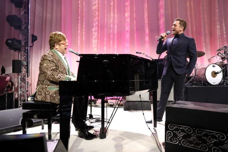 Elton John e Taron Egerton