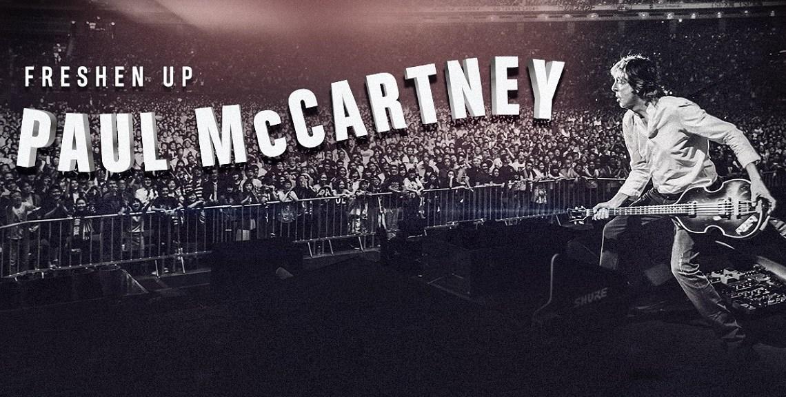 Março chega e traz Paul McCartney