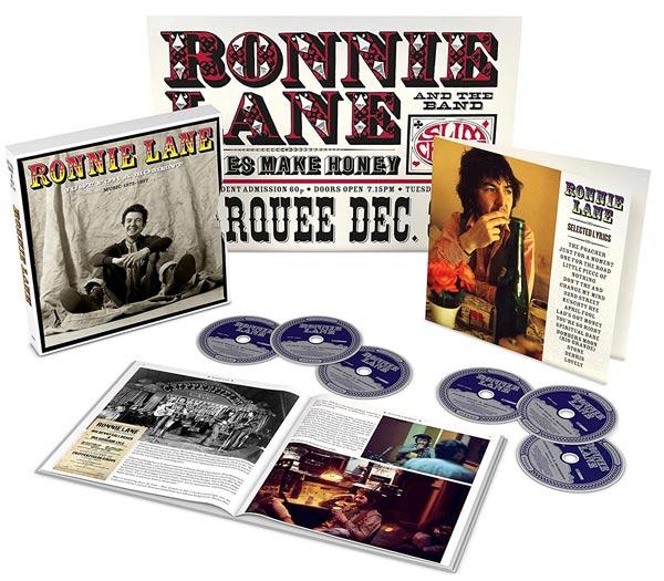 Ronnie Lane ganha caixa com 6 CDs