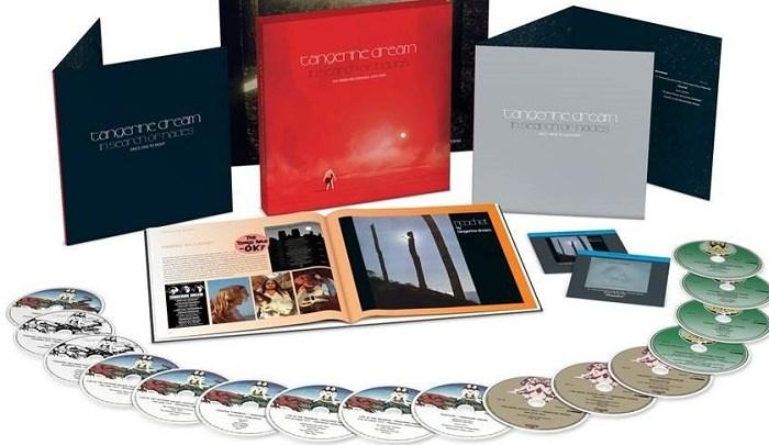 Tangerine Dream em box de 16 CDs e 2 blu-ray
