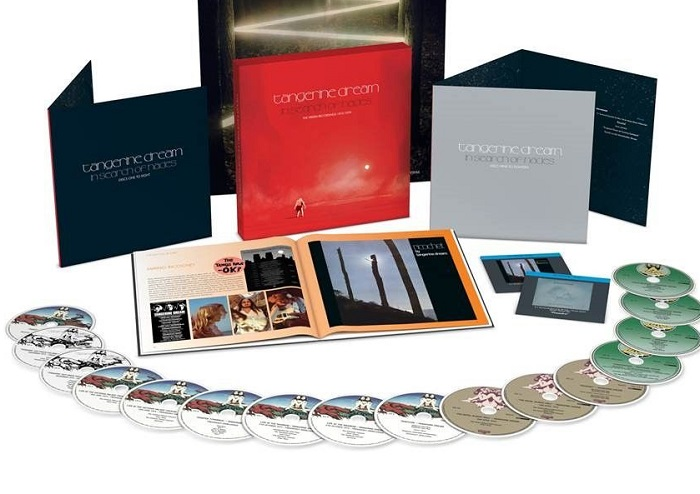 Tangerine Dream em box de 16 CDs e 2 blu-ray