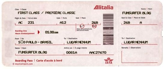 Bilhete Aéreo