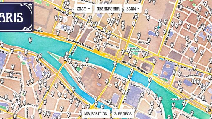 Qual a origem dos nomes das ruas de Paris?