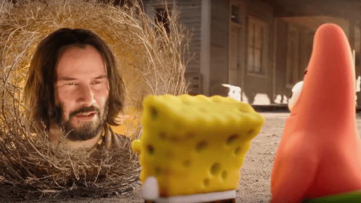 Bob Esponja volta ao cinema em 2020, com direito a Keanu Reeves