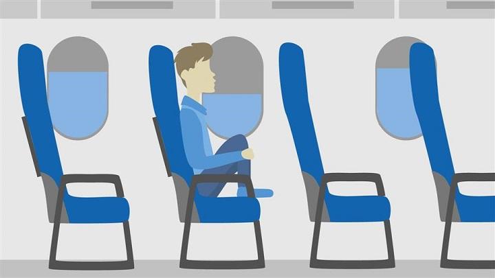 Assentos dos voos norte-americanos podem ficar ainda mais apertados