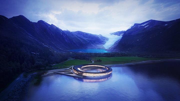 Hotel mais sustentável do mundo será inaugurado na Noruega em 2023
