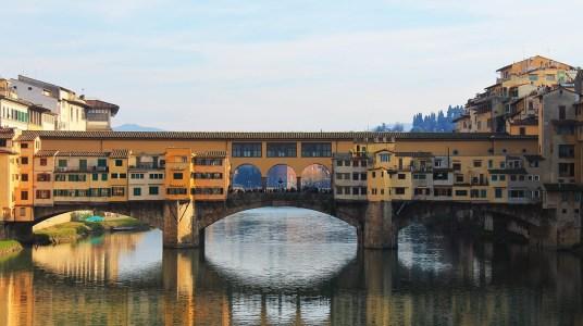 Ponte Vecchio - Florença - ranking com as melhores cidades da Europa