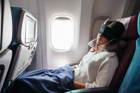 Travesseiros, cobertores e Limpeza em aviões
