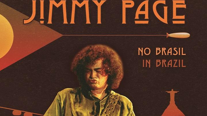 Livro conta a história de amor entre Jimmy Page e o Brasil