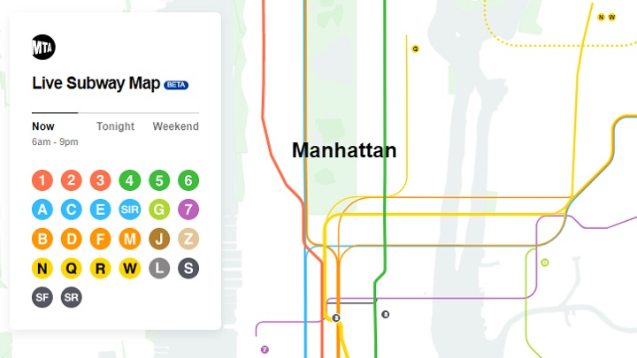 O novo mapa do metrô de Nova York foi feito por brasileiros
