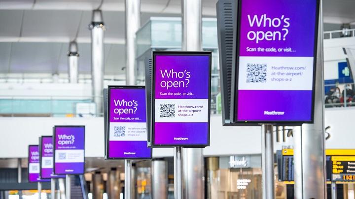 Quais lojas ainda estão abertas nos aeroportos de Londres?
