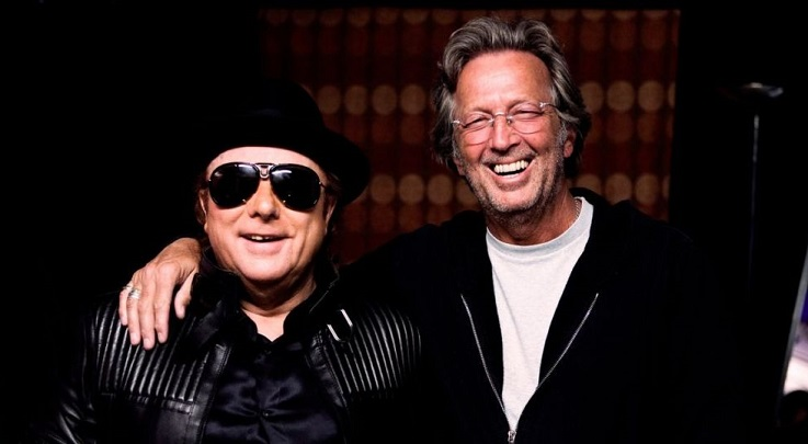 A música anti-lockdown de Eric Clapton e Van Morrison