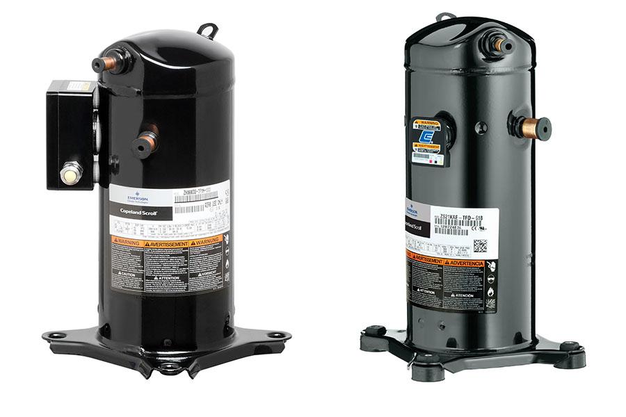 Emerson amplia oferta de compressores para gases de baixo impacto climático