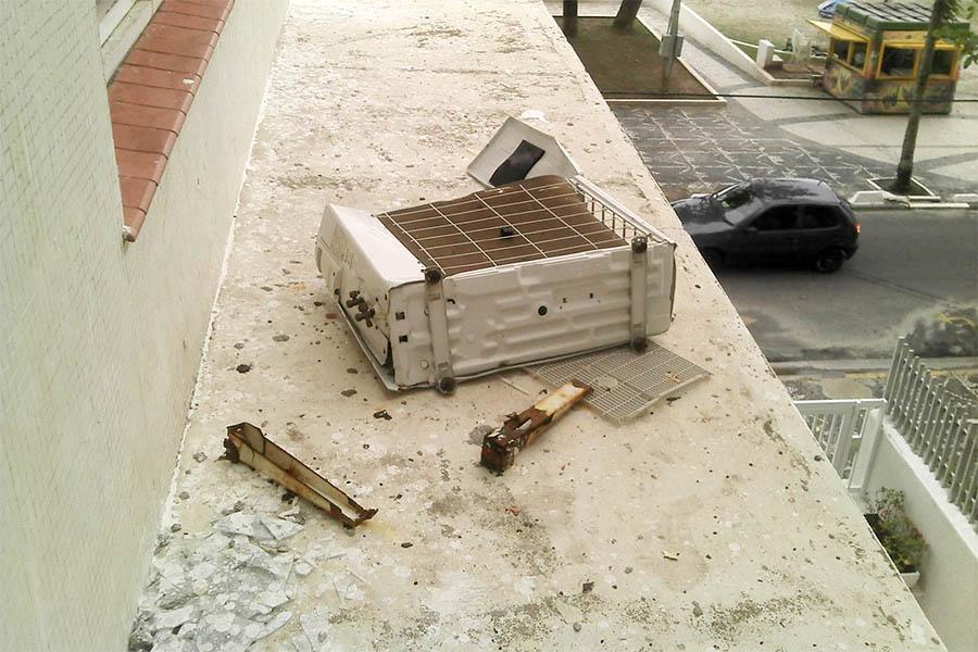 Risco de queda de ar-condicionado preocupa Asbrav