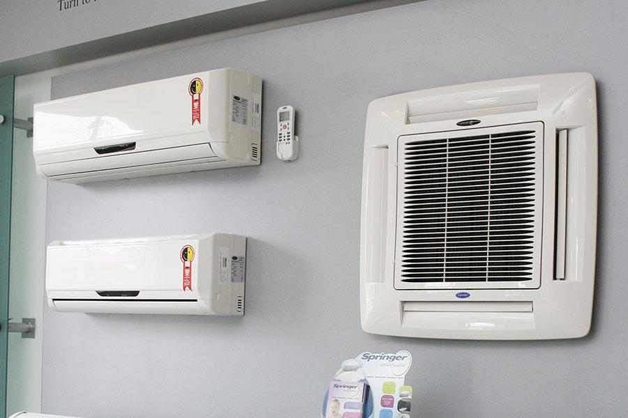 Comércio de ar-condicionado não deve superar vendas do verão passado