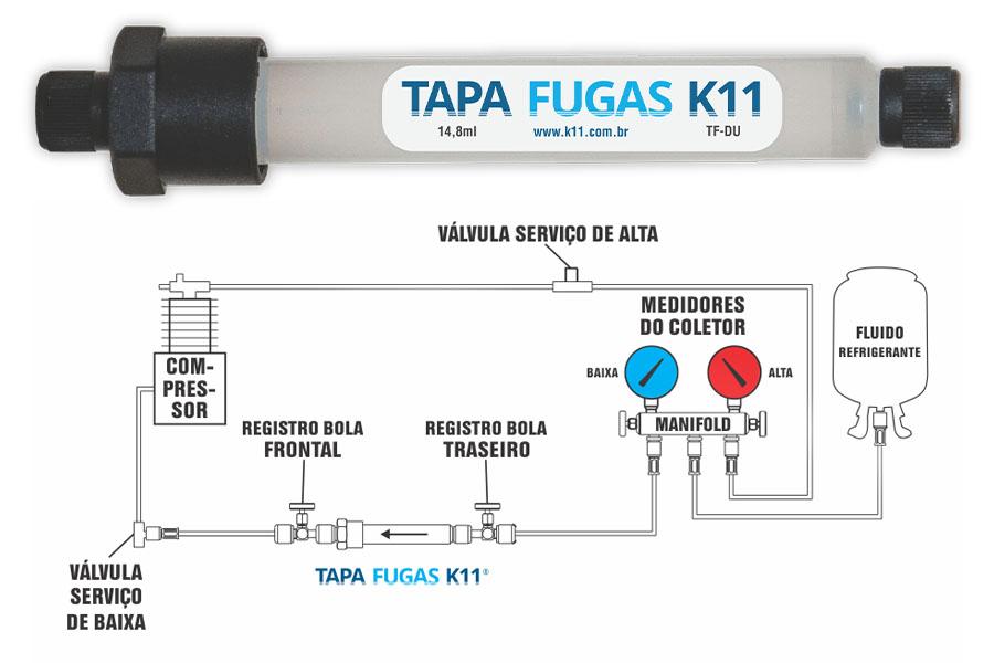 Tapa Fugas K11