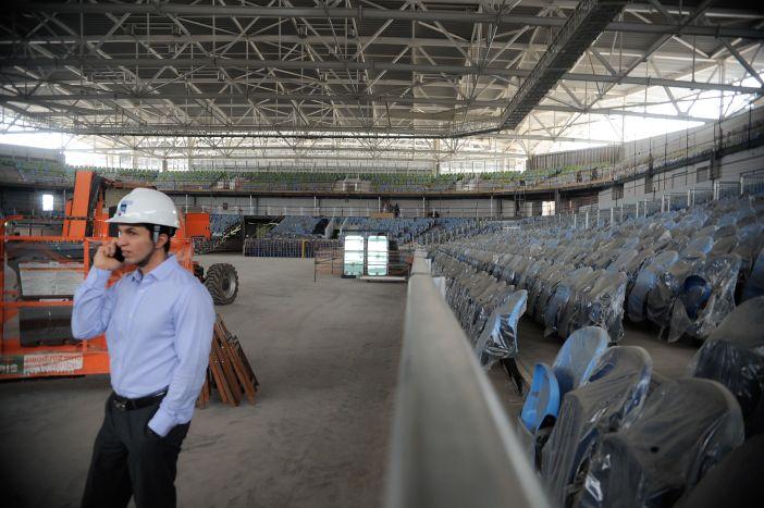 Obras do Parque Olímpico Rio 2016