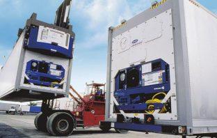 Container de transporte refrigerado
