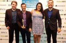 Diretoria da Leveros (Multi-Ar) no Prêmio Época Reclame Aqui 2017