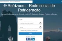 Tela do aplicativo Refrizoom em desktop