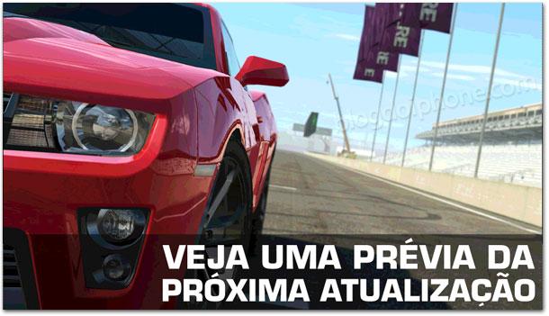 Real Racing 3 atualização