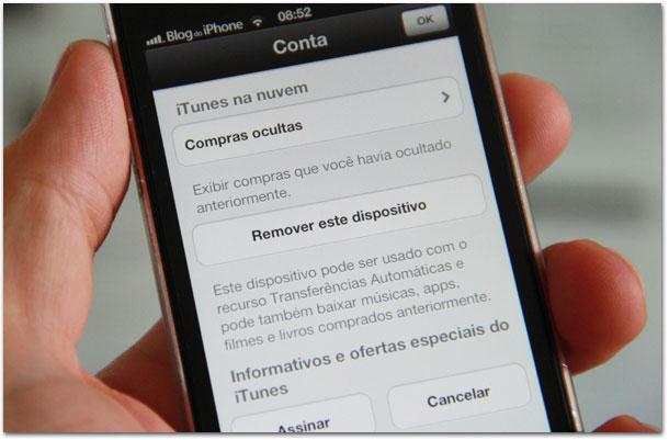 Pistas do iOS 7