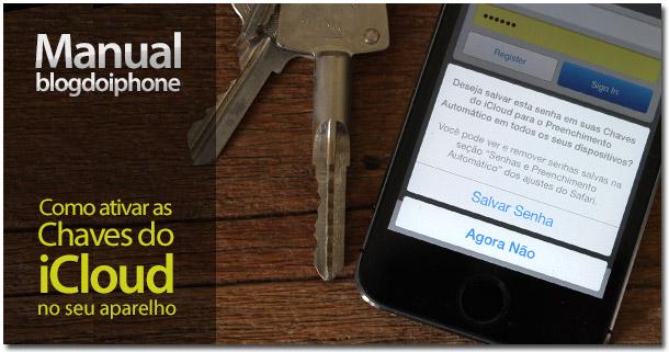 Chaves do iCloud — Manual BDI