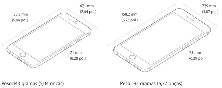 Apple revela novos iPhones 6s e iPhone 6s Plus » Blog do