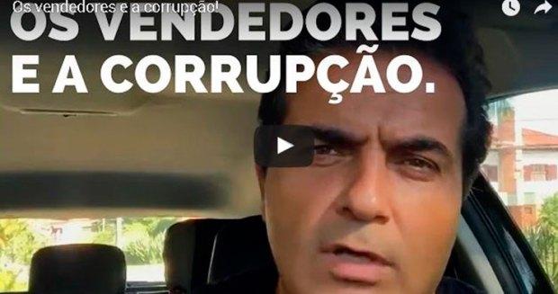 Os vendedores e a corrupção