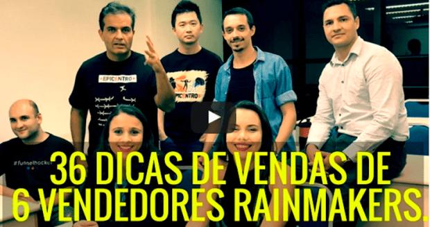 01 - 34 dicas de vendas de 6 Vendedores Rainmakers