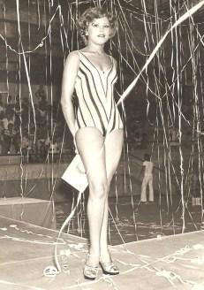Rainha do Carnaval de Jundiaí em 1978 (acervo pessoal)