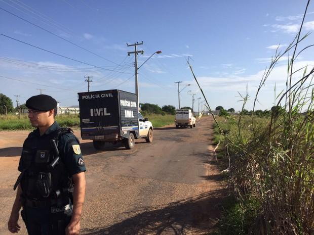 FOTOS IMAGENS-Mortos em presídio de Roraima não eram de nenhuma facção, diz governo