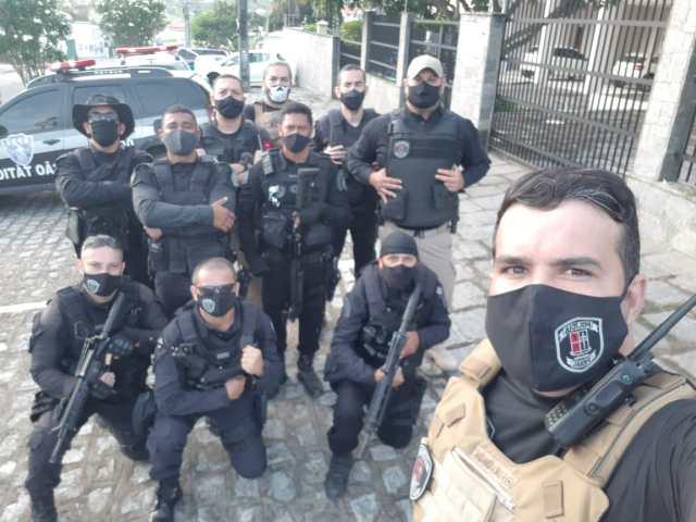 Em Campina, policiais penais participam de Operação conjunta das Forças de Segurança no combate ao crime