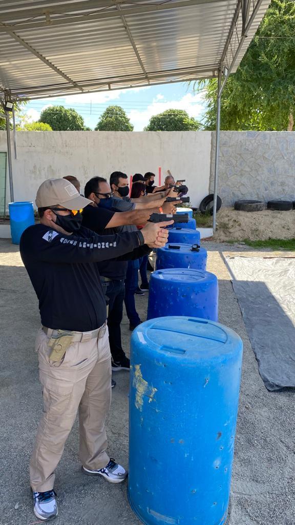 DC Tatical Training promove mais uma edição do Curso Operador de Pistola, no Clube Pessoense de Tiro