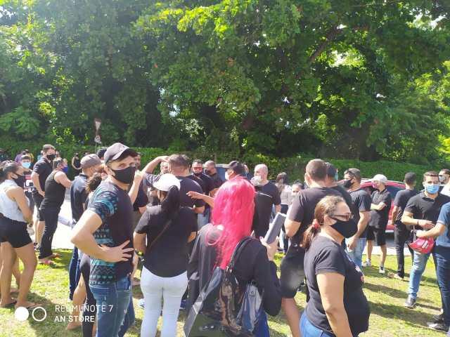 Músicos paraibanos voltam a protestar nesta quarta-feira (16). Querem a flexibilização de Decretos de prevenção à Covid 19.