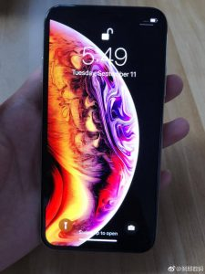 Iphon XS gears up