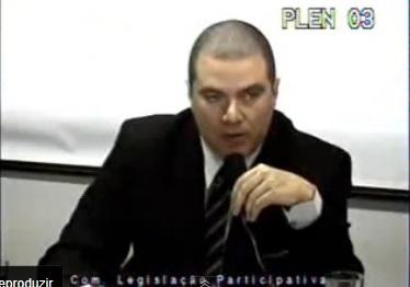 Discurso na Câmara dos Deputados, em 2011, contra a corrupção no Esporte