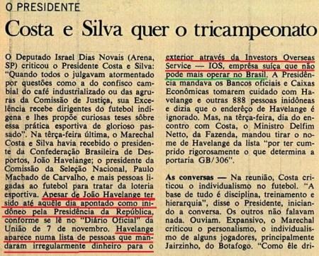 veja havelange 1968