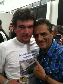 Andres Sanches e Jorge Kalil