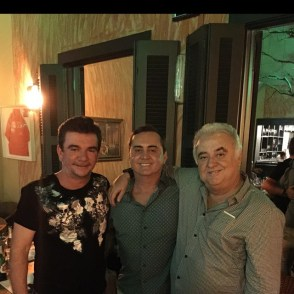 Andres Sanches, Fernando Garcia e Paulo Garcia