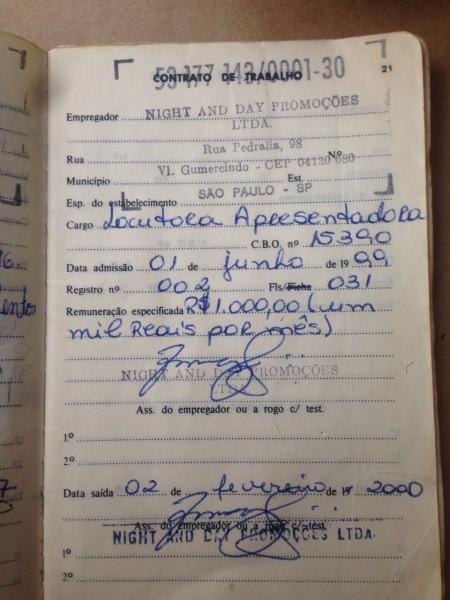 carteira trabalho russo