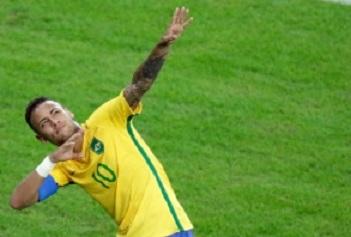 neymar bolt raio