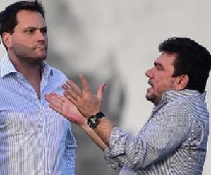 Andres Sanches e Eduardo Gaguinho, a criatura