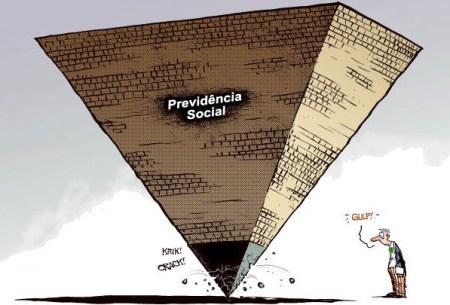 Representando a previdência social estatal em uma imagem