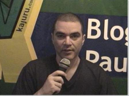 Blog do Paulinho na TV Kajuru - 2009 (antes de saber de quem se tratava o indivíduo)